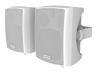 Active Wall Mount Speakers (Pair) 25w